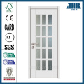 JHK Wholesale Glass Panels White French Door