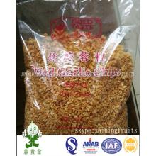 Gránulos fritos del ajo que empaquetan en bolso de 500gram