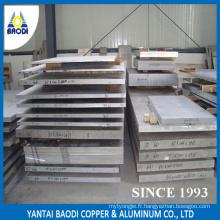 Panneau en aluminium à trempe libre 5083 H112 en argent avec une taille de 36 pouces * 36 pouces en prix d'usine pour le marché du Moyen-Orient