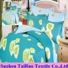 Juego de sábanas estampadas con doble cara de tejido Tc