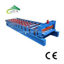 Lembaran Roofing Trapezoidal Roll Forming Machine