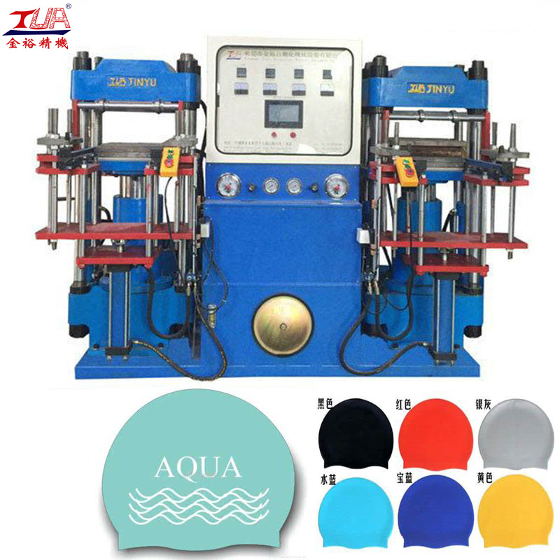 swimming cap hydraulic machine
