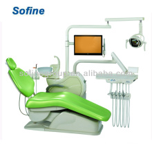 Heißer Verkauf Mounted Dental Einheit Stuhl Maschine mit CE ISO Dental Einheit Stuhl