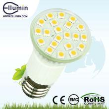 Le CE Rohs 3W E27 2700K a mené la lumière