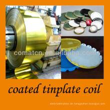 beschichtete Weißblech Spule für Twist off und Kronkorken-Produktion