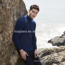 Inner Mongolia cashmere men's turtleneck sweater