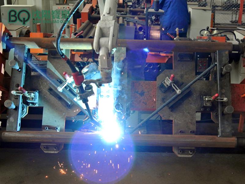mast welding
