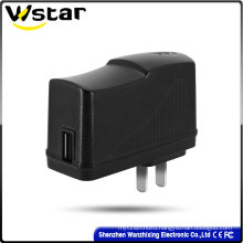 5V 2A USB Adapter with EU US UK Plug