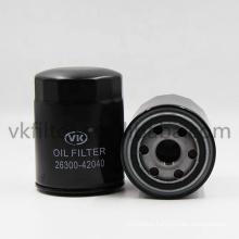 Car auto spare parts genuine parts oil fiter H-YUNDAI - 2630042040