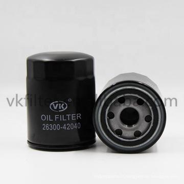 Pièces de rechange automobiles de voiture pièces d'origine filtre à huile H-YUNDAI - 2630042040