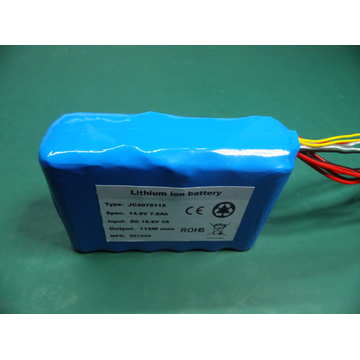 14.8V deep cycle military battery pack