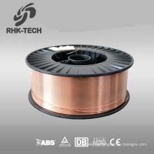 SG2 co2 mag / mig cable de malla de alambre de soldadura tipo corea