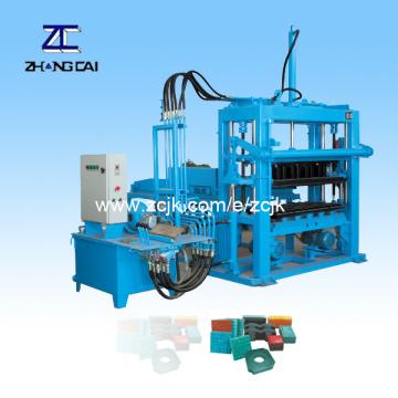 Hydraulic Interlocking Pavers Brick Machine (QTY3000)