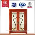 Último design, porta de madeira de vidro deslizante, janela de vidro deslizante