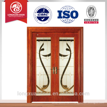 Dernier design, porte coulissante en verre en bois, fenêtre coulissante en verre