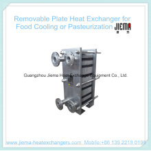 Removable Plate Heat Exchanger for Pasteurization (BR0.2-1.0-7-E)