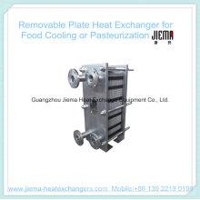 Trocador de calor de placa removível para pasteurização (BR0.2-1.0-7-E)