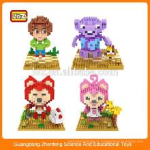 2015 jouet éducatif chaud mini figurine style diamant jeu de puzzle LOZ blocs