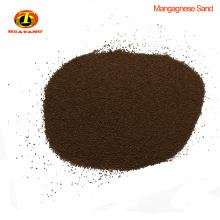 Prix de marché fer à repasser filtre médias médias sables de manganèse