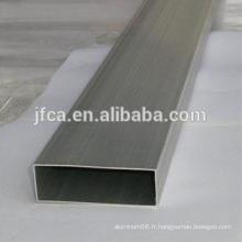 Tubes carrés en aluminium sans soudure pour décoration 7075