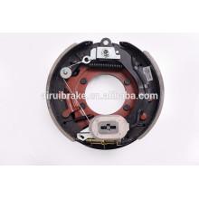 """Барабанный тормоз -12.25 """"x3-3 / 8 '' электрический барабанный тормоз с регулировочным тросом для прицепа (5-луночное отверстие) с пылезащитным экраном"""