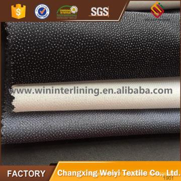 Interfaçage fusible tissé à armure toile