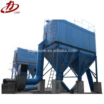 Sistema de recolección de polvo de filtro de bolsa de horno de planta de cemento