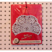 4.5 inchRound Silver Foil Paper Doily