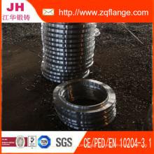 Brida de acero al carbono y brida japonesa, aleta de tubo de Alemania