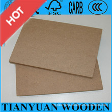 China Shandong Linyi Factory Sell Plain MDF, Melamine MDF