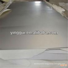 5052(NS4) 5154A(NS5) 5056(A56S) aluminium alloy thick plain diamond sheet / plate