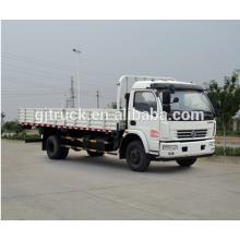 4X2 drive Dongfeng ligh van truck para capacidad de carga de 3-8 T con motor CUMMINS