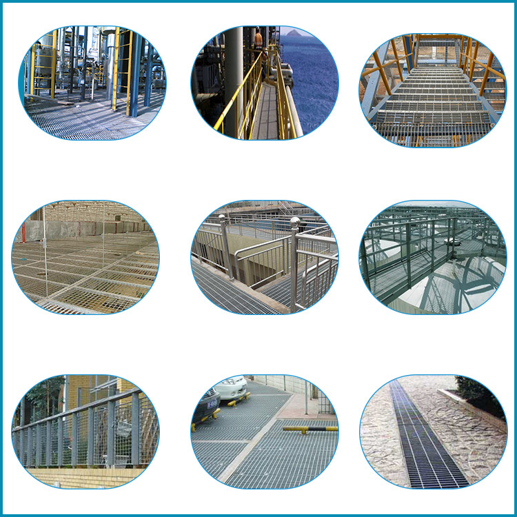 Pressured Welded Galvanized Steel Grating