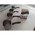 150 мл/250 мл/350 мл 500 мл из нержавеющей стали кофе теплее , кофейный набор с конструкцией сопла