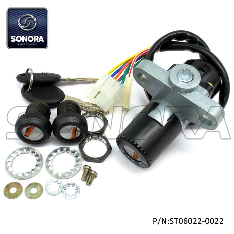 ST06022-0022 DERBI SENDA 5 wires lock set (1)