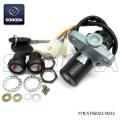 Derbi Senda 5 Wires Lock Set (P/N:ST06022-0022) Top Quality