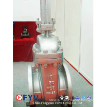 API Cast Steel Flanged Wedge Gate Valve (Z40W)