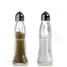 Mini Salt Pepper Mill Glass Bottle