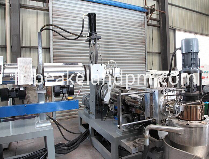 double stage pelletizing die face cutting