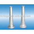 custom made sand casting aluminum post