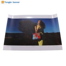 Impressão de faixa de fundo de fotografia