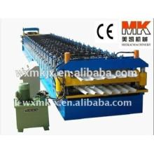 Máquina formadora de rollos de panel doble de color