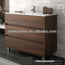 2013 New Floor Standing Bathroom Melamine Bathroom Furniture Normal