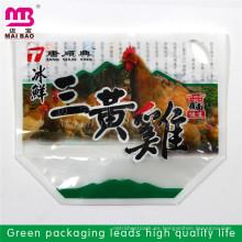Empaquetado de alimentos congelados plástico transparente reciclable promocional de la bolsa de vacío