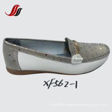 Newest Lady Women Loafer Shoes Leisure Leather Shoes (SF01)