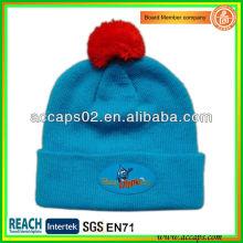 Sombrero de gorrita modificado para requisitos particulares con el logotipo para la promoción de invierno BN-2650