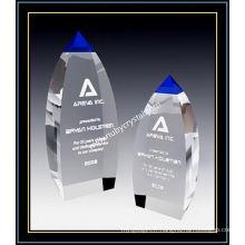 Tour au sommet de cristal bleu pour joueur de 9 pouces de hauteur