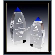Blue Crystal Award Vertex Tower para o jogador de 9 polegadas de altura