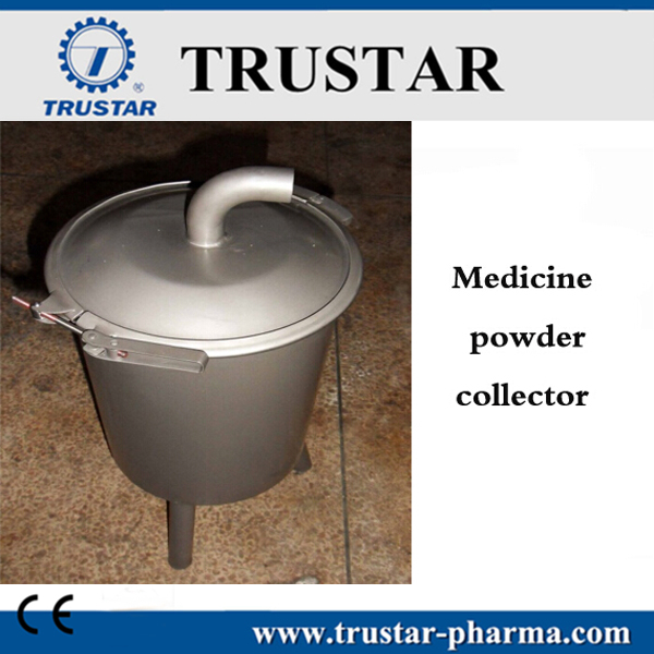 Medicine powder collector