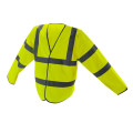 120gsm 100% polyester knitted fabric Reflective Safety Vest